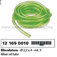 Olajcső vékony 2,2mm X 4mm (121690010)
