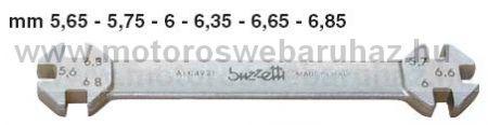 BUZETTI (4921) KÜLLŐKULCS 5,65mm-5,75mm-6mm-6,35mm-6,65mm-6,85mm