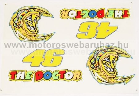 Matrica szett Rossi (THE DOCTOR)