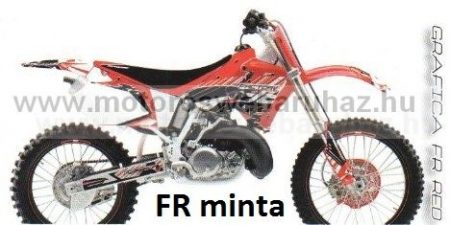ARC-DESIGN off-road matricaszett 'A-kit' Honda CR125-250 1993 - 1997 (ARCHONDACR1251A)