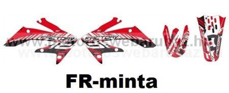 ARC-DESIGN off-road matricaszett 'A-kit' Honda CRF 250 2006-2007 (ARCHONDACRF2502A)