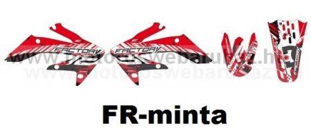 ARC-DESIGN off-road matricaszett 'A-kit' Honda CRF 250 2008-2009 (ARCHONDACRF2503A)