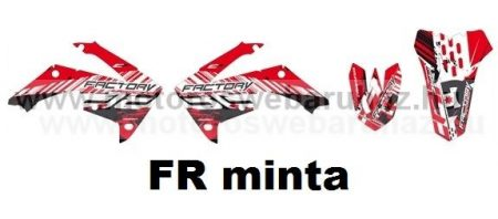 ARC-DESIGN off-road matricaszett 'A-kit' Honda CRF 250 2010-2013 (ARCHONDACRF2504A)
