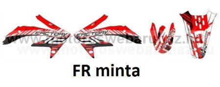 ARC-DESIGN off-road matricaszett 'A-kit' Honda CRF 450 2007 (ARCHONDACRF4503A)