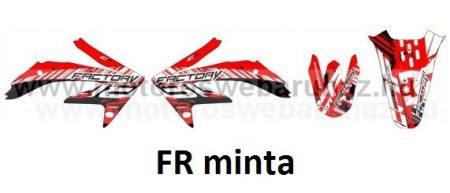 ARC-DESIGN off-road matricaszett 'A-kit' Honda CRF 450 2008 (ARCHONDACRF4504A)