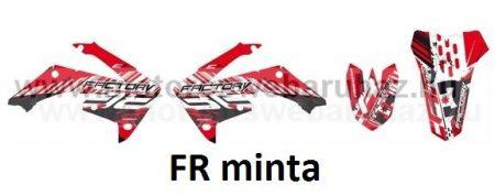 ARC-DESIGN off-road matricaszett 'A-kit' Honda CRF 450 2009-2010 (ARCHONDACRF4505A)