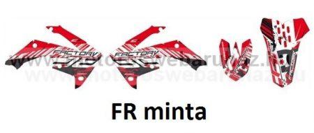 ARC-DESIGN off-road matricaszett 'A-kit' Honda CRF 450 2011-2012 (ARCHONDACRF4506A)