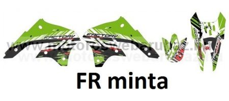 ARC-DESIGN off-road matricaszett 'A-kit'KAWASAKI KLX 450 2007-2015 (ARCKAWASAKIKLX450A)
