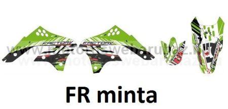 ARC-DESIGN off-road matricaszett 'A-kit'KAWASAKI KXF250 2006-2008 (ARCKAWASAKIKXF2501A)