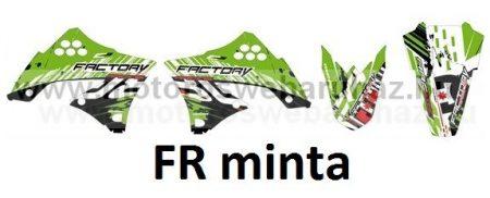 ARC-DESIGN off-road matricaszett 'A-kit'KAWASAKI KXF250 2009-2012 (ARCKAWASAKIKXF2502A)