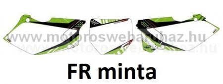 ARC-DESIGN off-road matricaszett 'B-kit'KAWASAKI KXF250 2004-2005 (ARCKAWASAKIKXF250B)