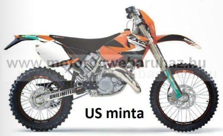 ARC-DESIGN off-road matricaszett 'B-kit' KTM EXC EXC-F MODELLEKHEZ 2003 (ARCKTMEXC1B)
