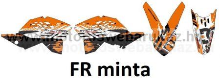ARC-DESIGN off-road matricaszett 'A-kit' KTM EXC EXC-F MODELLEKHEZ 2008-2011 (ARCKTMEXC4A)