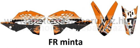 ARC-DESIGN off-road matricaszett 'A-kit' KTM SX 125 250 300 MODELLEKHEZ 2007-2010 (ARCKTMSX4A)