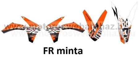 ARC-DESIGN off-road matricaszett 'A-kit' KTM SX 125 250 300 MODELLEKHEZ 2011 (ARCKTMSX5A)