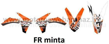 ARC-DESIGN off-road matricaszett 'A-kit' KTM SX 125 250 300 MODELLEKHEZ 2012 (ARCKTMSX6A)