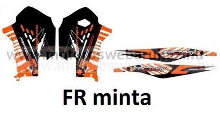 ARC-DESIGN off-road matricaszett 'C-kit' KTM SX-F 250 350 450 MODELLEKHEZ 2011-2012 (ARCKTMSXF1C)