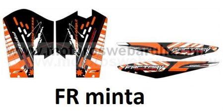 ARC-DESIGN off-road matricaszett 'C-kit' KTM SX-F 250 350 450 MODELLEKHEZ 2013-2015 (ARCKTMSXF2C)