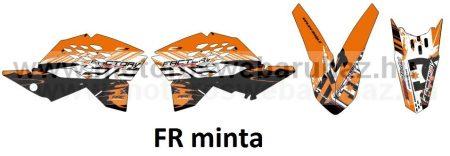 ARC-DESIGN off-road matricaszett 'A-kit' KTM SX-F 250 350 450 MODELLEKHEZ 2007-2010 (ARCKTMSXFA)