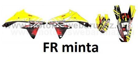 ARC-DESIGN off-road matricaszett 'A-kit' SUZUKI RMZ 450 2008-2015 (ARCSUZUKIRMZ450A)