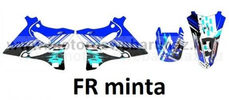 ARC-DESIGN off-road matricaszett 'A-kit' YAMAHA YZ 125 - 250 2005 (ARCYAMAHAYZ1251A)