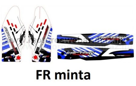 ARC-DESIGN off-road matricaszett 'C-kit' YAMAHA YZF 250 2010-2013 (ARCYAMAHAYZF250C)