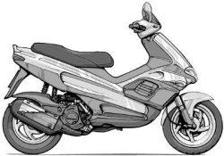 RUNNER VX 125 4T (ZAPM24200) (02-04)