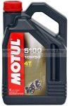 MOTUL 5100 4T 10W50 4 literes kiszerelés