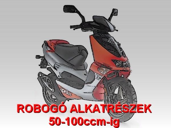 ROBOGÓ ALKATRÉSZEK 50-100ccm-ig