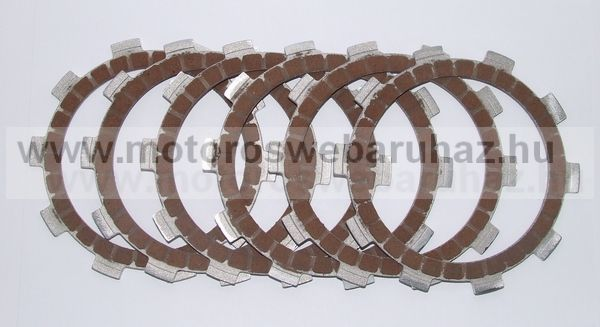 Kuplunglamella szett Kopó ROTAX 125 (ADBR46)